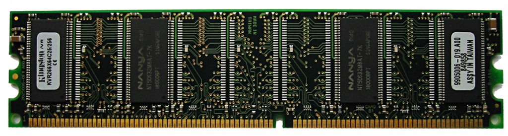 DDR SDRAM DIMM1 1024x274 The ABC's Of PC and Laptop Memory